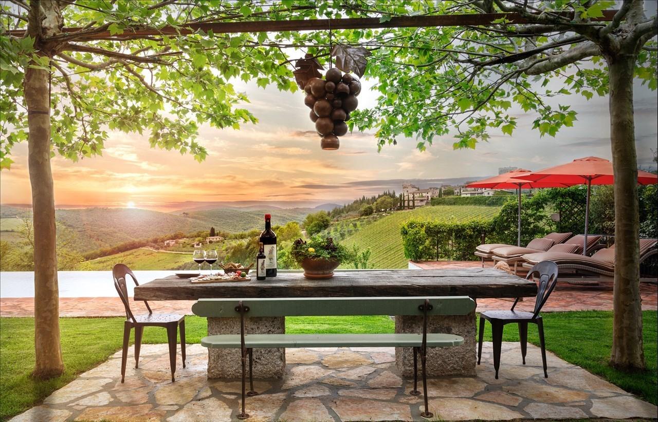 TOSCANE: La Toscane se trouve en Italie centrale et s'étend des Apennins à la mer Tyrrhénienne