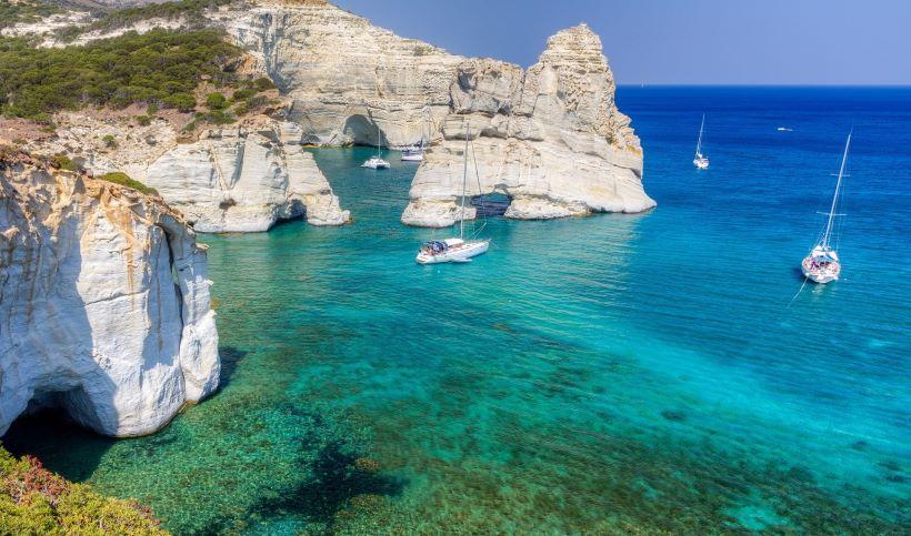 MER EGÉE SUD:Des 250 îles qui composent les Cyclades, majoritairement localisées en Egée Sud,