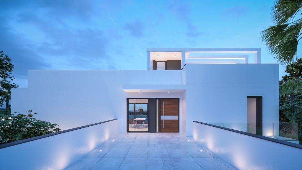 Spectaculaire Villa moderne avec vue sur la mer
