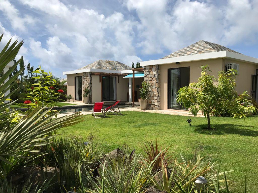 Villa à vendre avec piscine à Grand Baie dans le nord de l'île