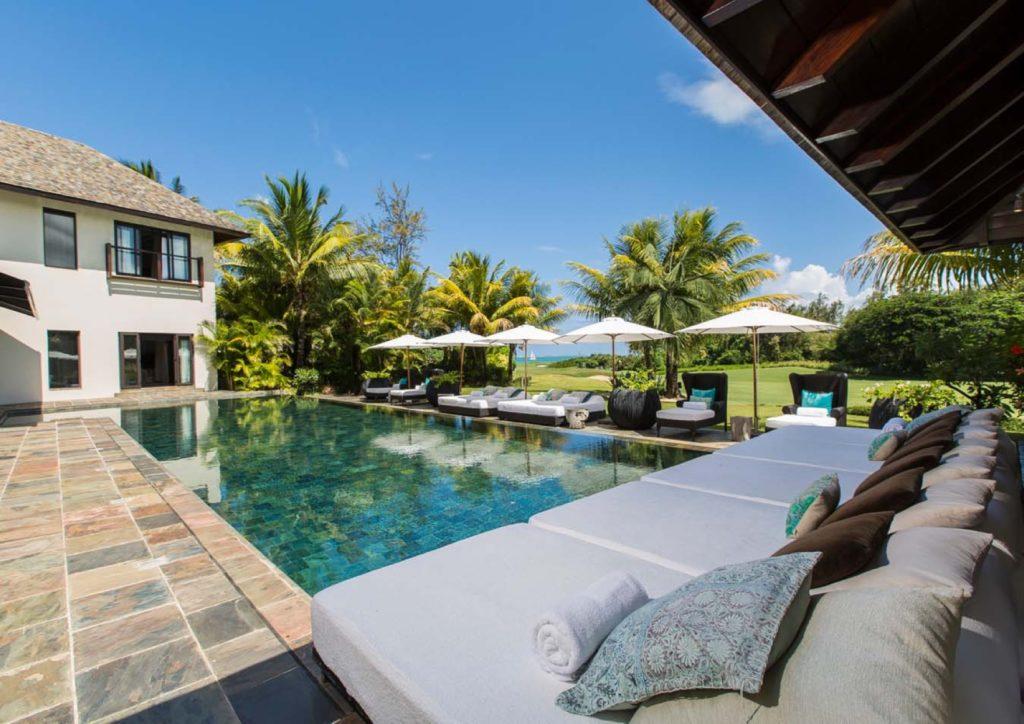 Villas de luxe avec vues splendides sur le lagon, le golf ou les montagnes