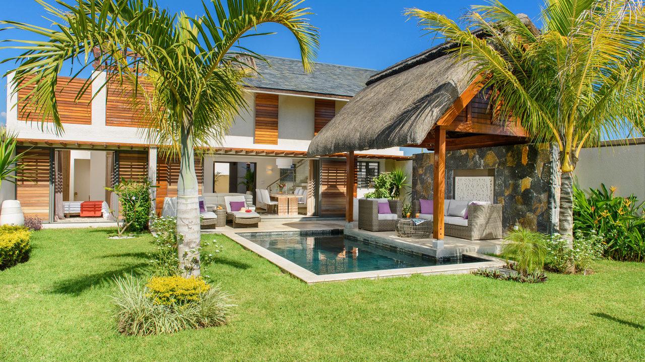 Coquette et confortable – villa surface de 172 m2 île Maurice