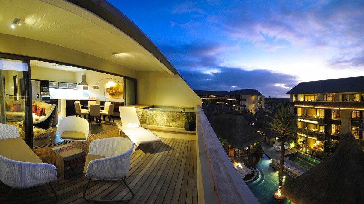 Très beau penthouse de 128 m2, il se compose de trois chambres ILE MAURICE