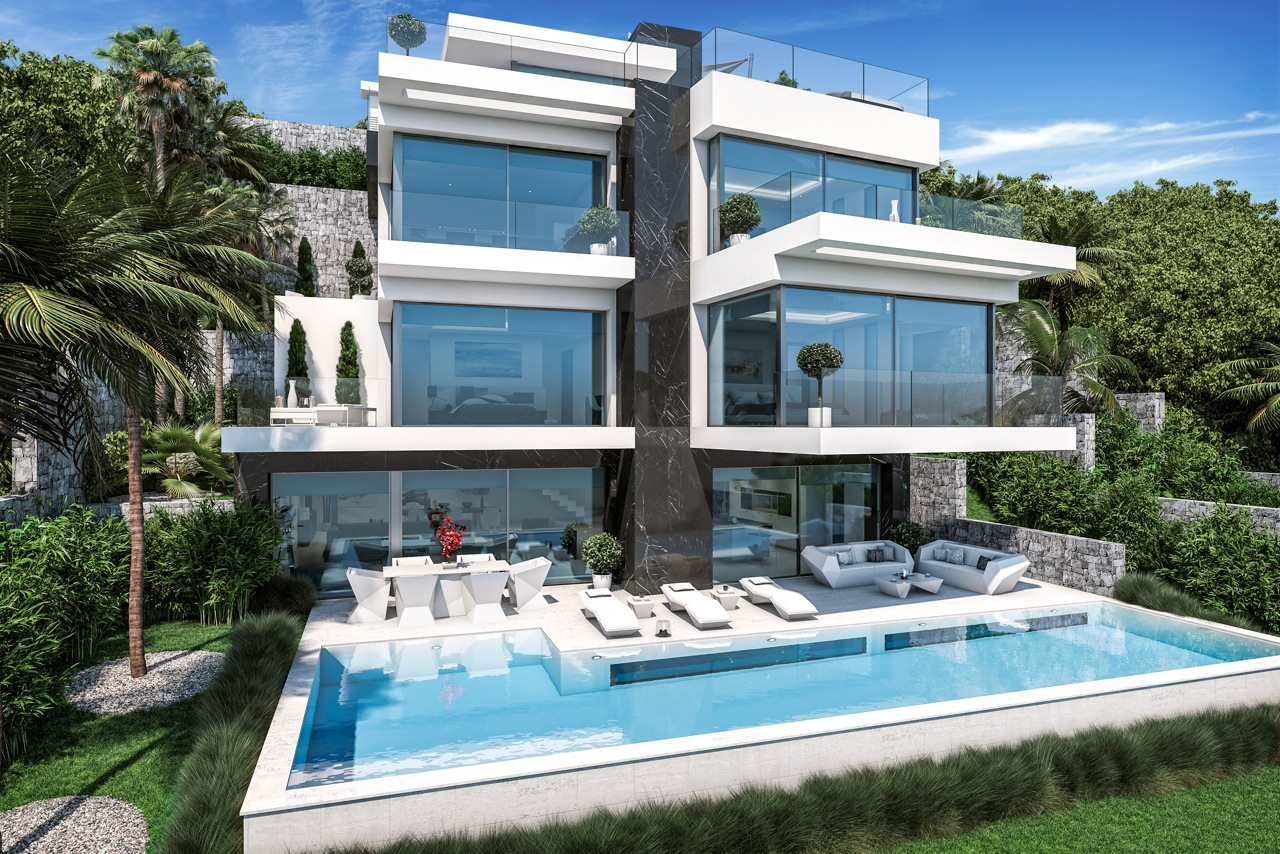 Superbe Villa, Granadella-Javea