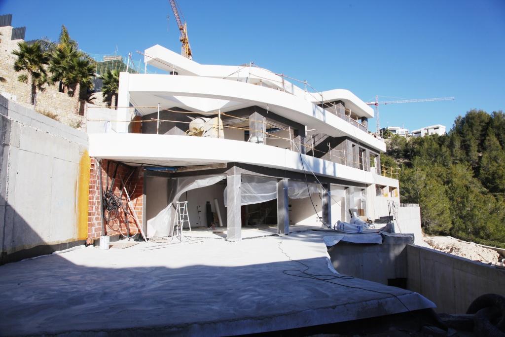 ESPAGNE | Charmant Villa projet moderne, 4 chambres, 5 salle de bain