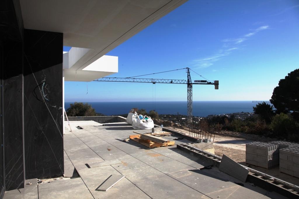 Projet: belle villa neuve et moderne de 4 chambres et 4 salles de bains Espagne