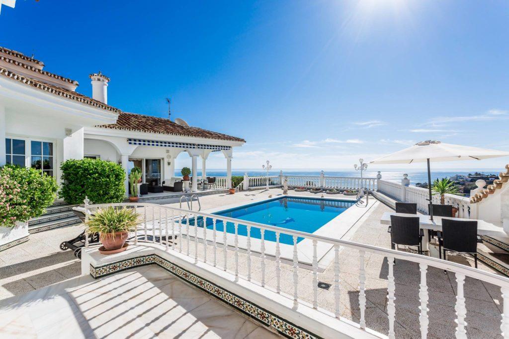 Villa vue imprenable sur la Mer Méditerranée Benalmádena