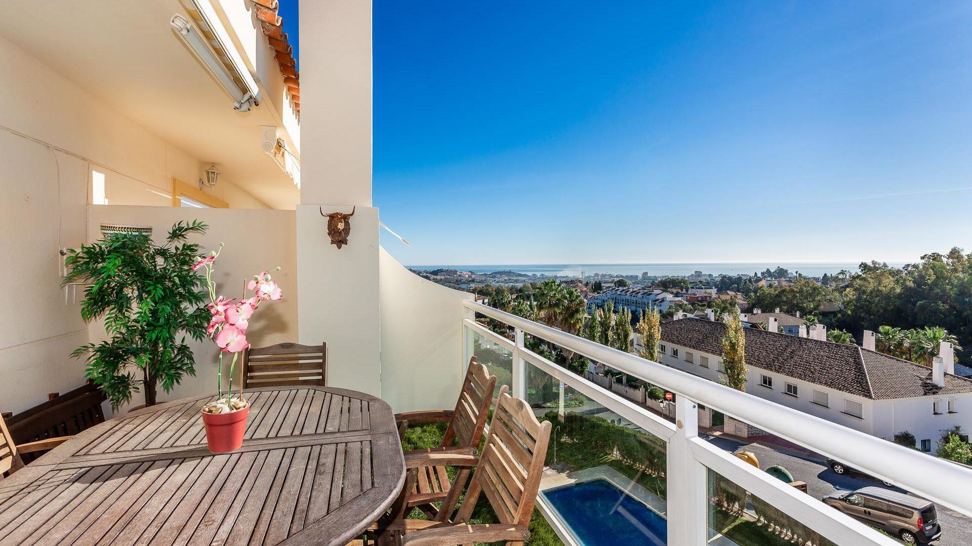 Duplex / penthouse meublé de 3 chambres avec 2 terrasses