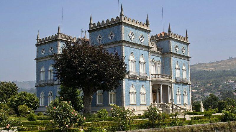 Cet élégant manoir du XIXe siècle, nommé Villa Beatriz,