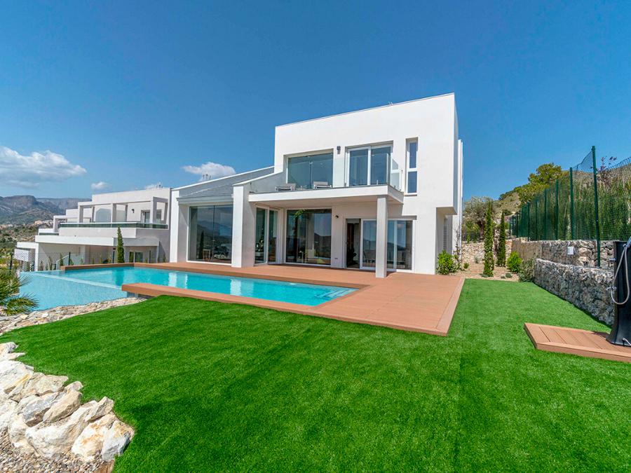 Villa intimité maximale et une vue magnifique sur la mer