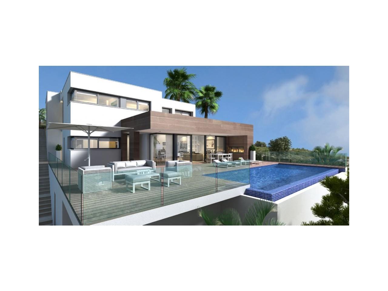 Spectaculaire villa au design moderne