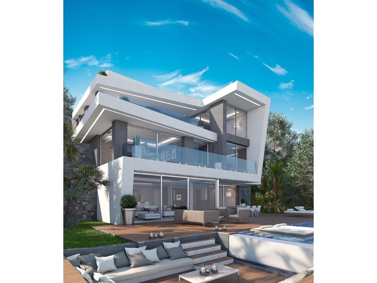 Villa fantastique de style moderne située à Javea