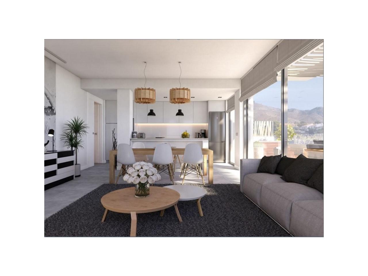 Bel appartement avec vue sur la mer  Finestrat