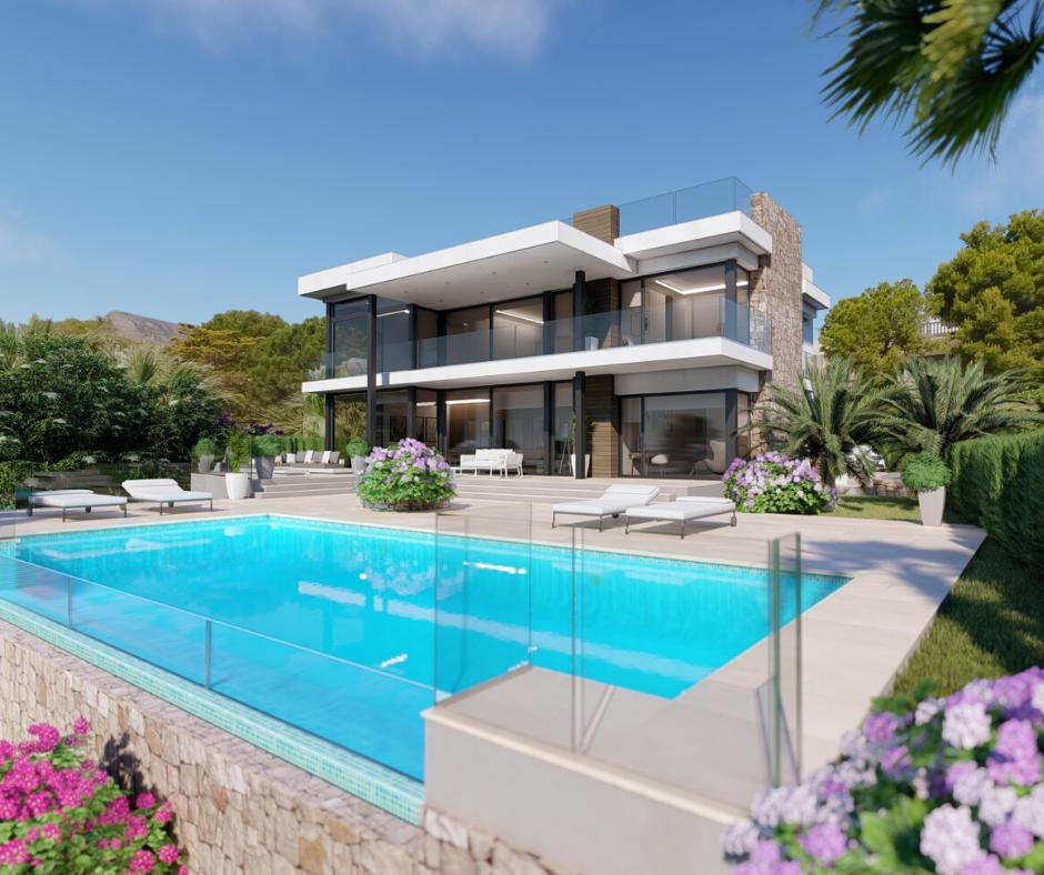 Villa 6 Pièces au bord de la Méditerranée