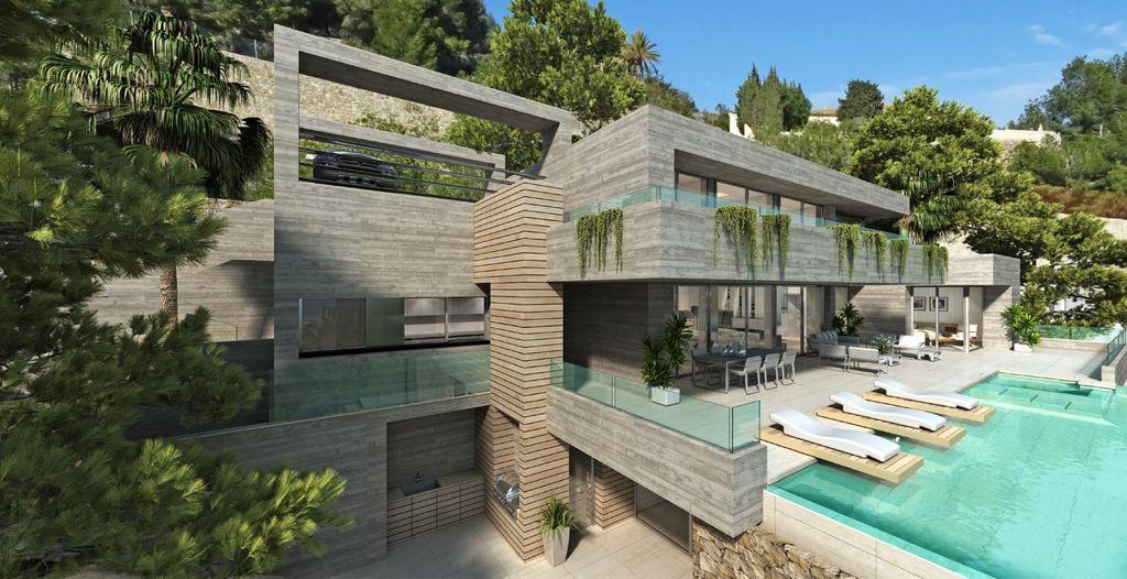 Villa exclusive avec vue impressionante sur la mer