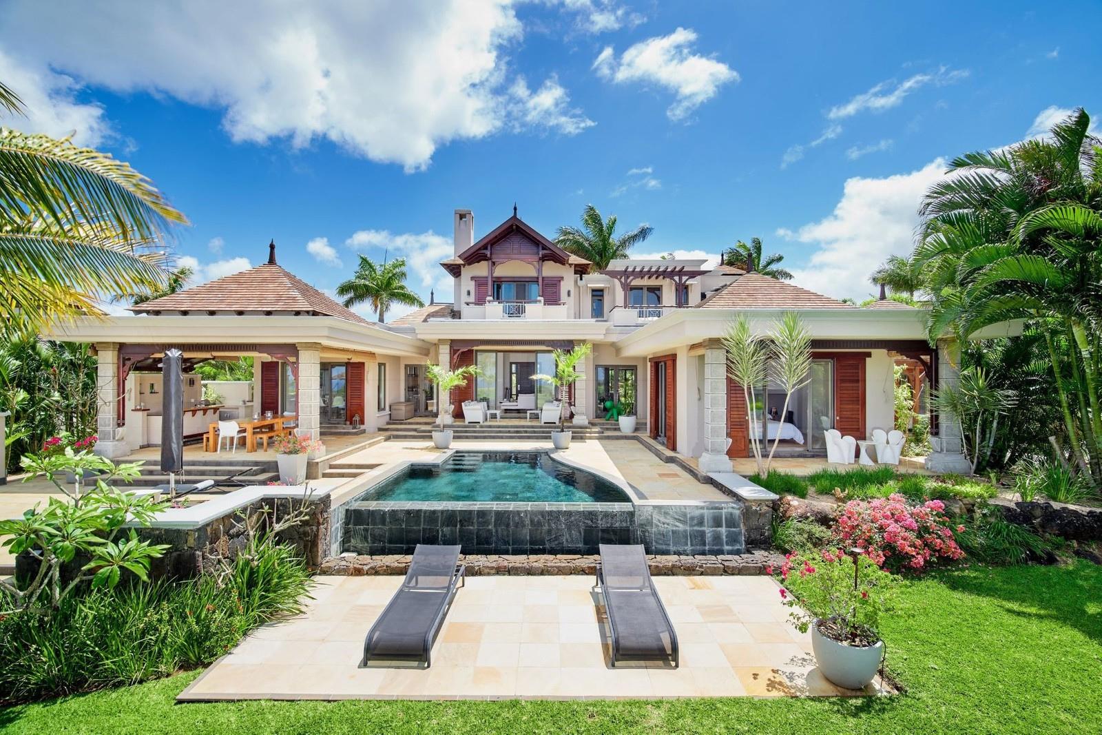 Somptueuse villa de 4 chambres offre un style de vie inégalé – île Maurice