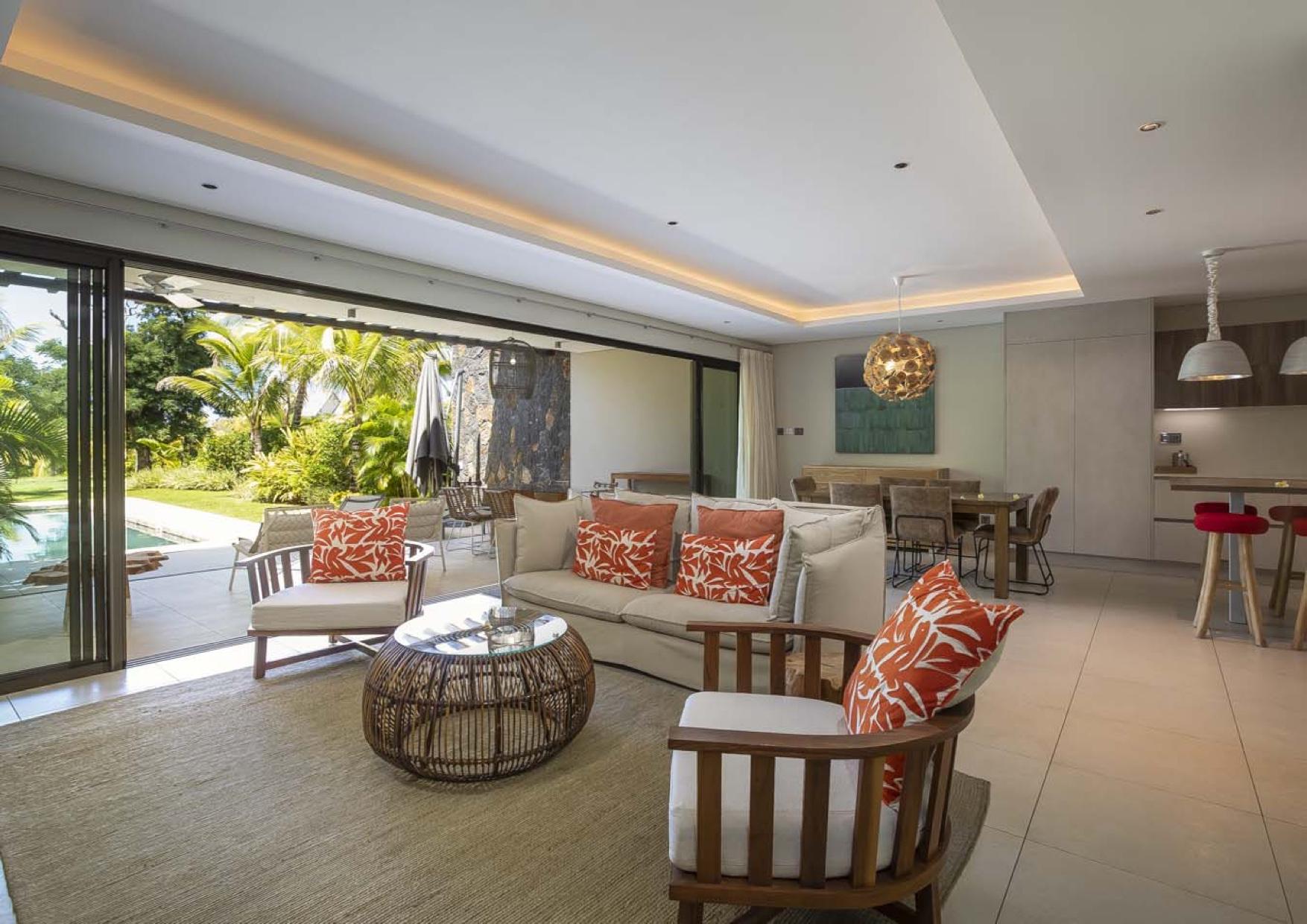 Villa mitoyenne 3 chambres  200 m² Beau Champ, Île Maurice