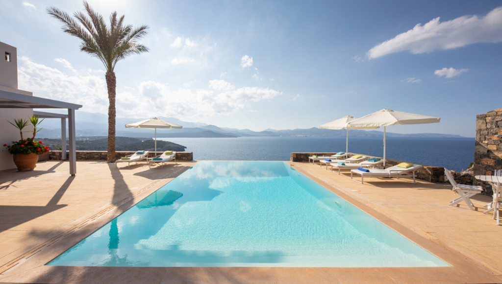 Villa de 3 chambres 133m2  offrant une superbe vue sur la mer Grèce