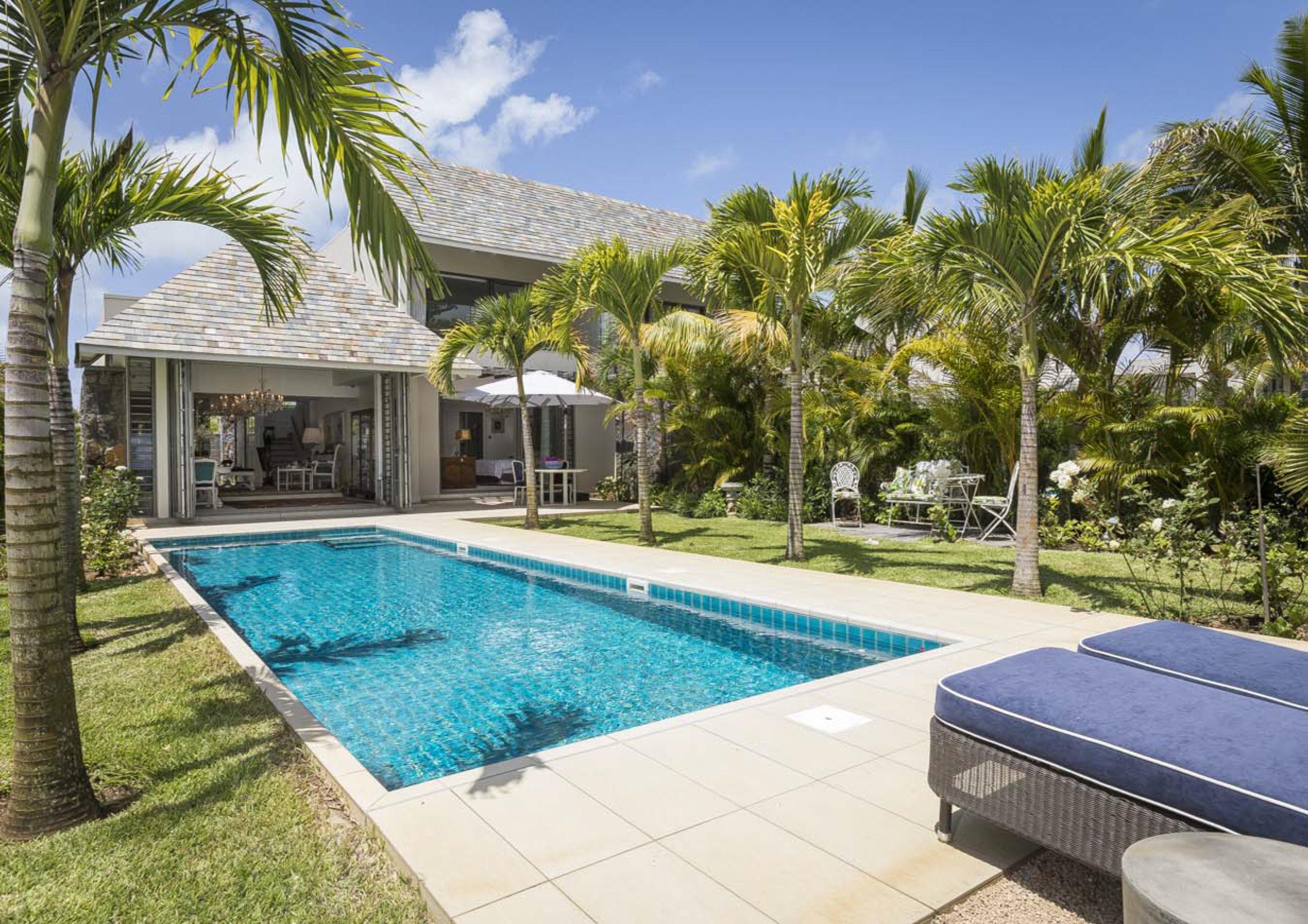 Île Maurice Villa jumelée avec jardins tropicaux