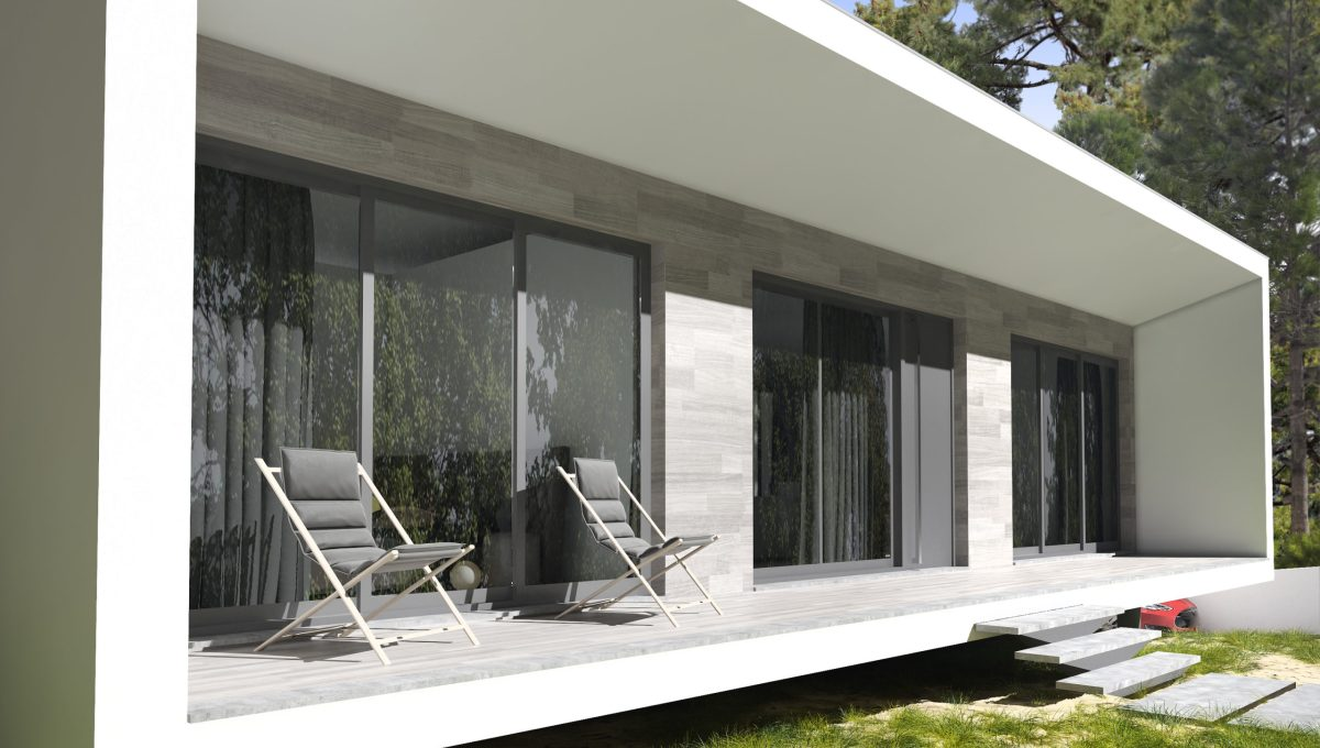 Maison neuve à vendre sur la Côte d'Argent au Portugal