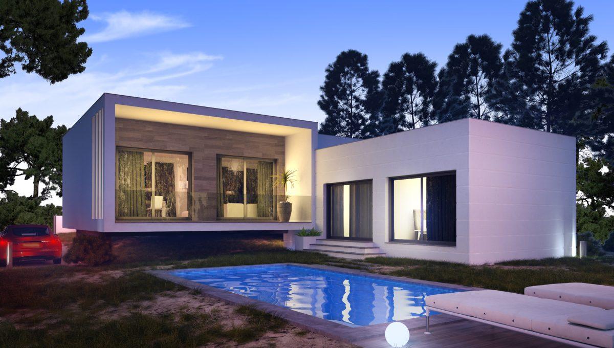 Villa moderne de nouvelle construction   Côte d'Argent