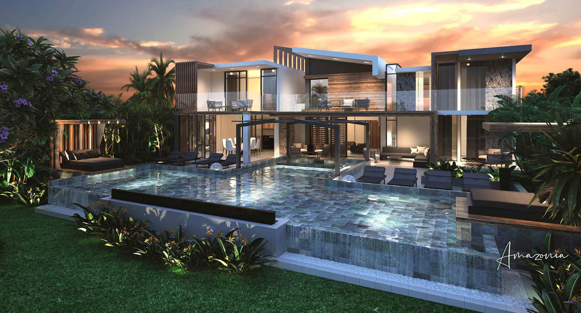 Villa de luxe de 4 chambres en vente Cap Malheureux, Île Maurice
