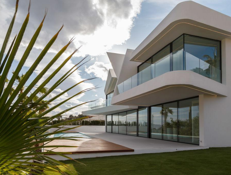 Maison de luxe 4 chambres vue sur la mer à Moraira,