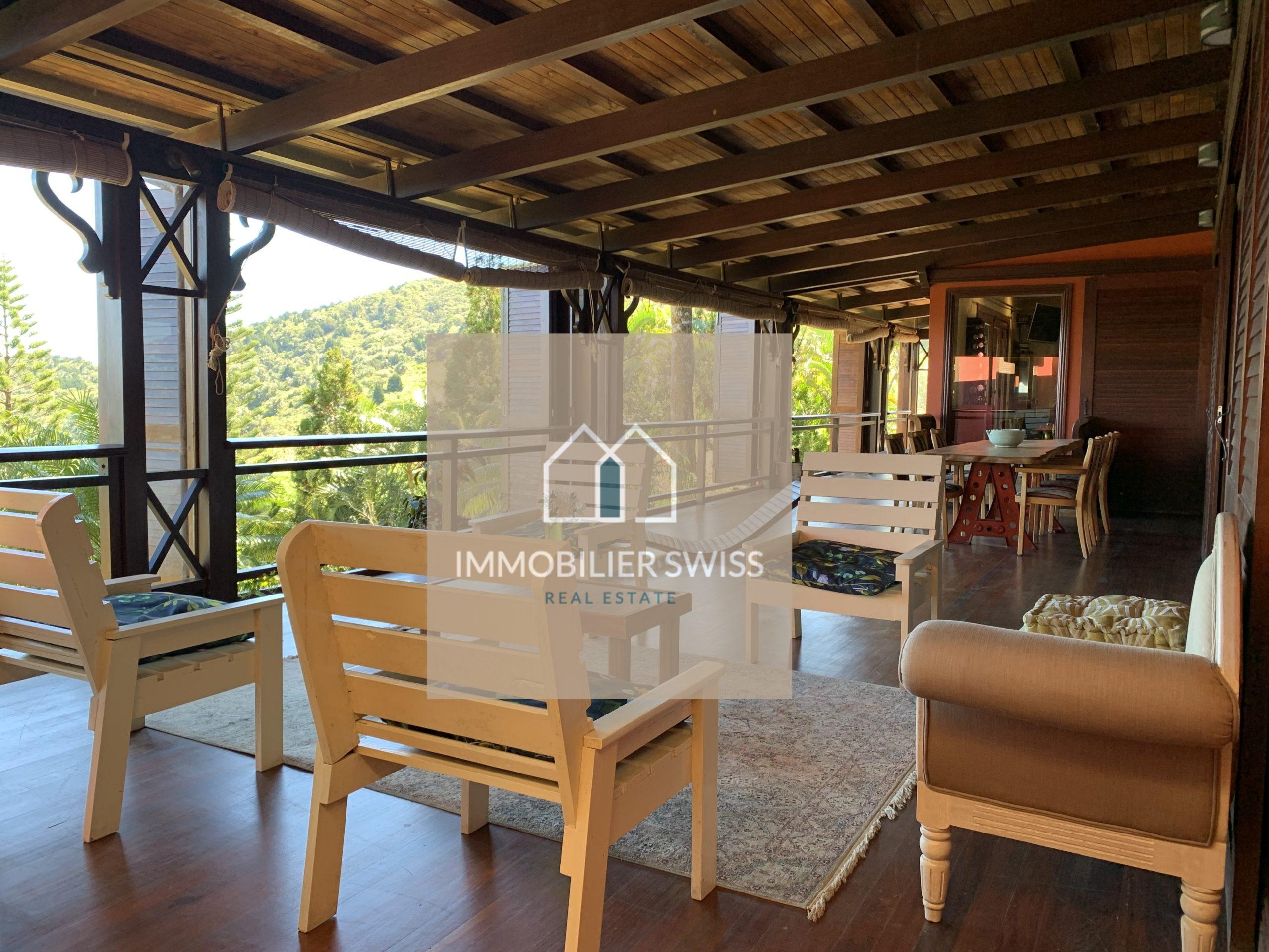 À VENDRE Villa de 3 chambres surface 486 m² Terrain 37988m²| Île Maurice