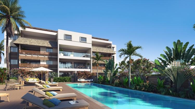 Appartements de 2 à 3 chambre surface de 87 à 180 m2 Cap Tamarin