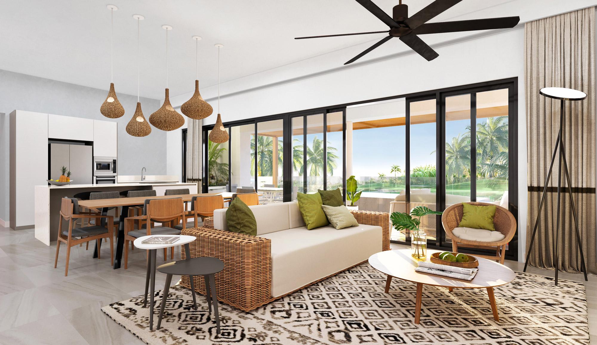 Villas Appartements Et Penthouses style contemporain À Vendre