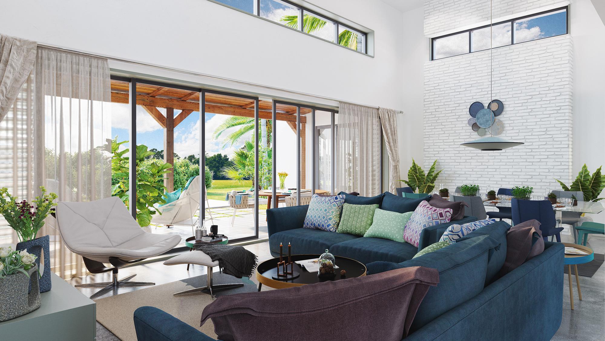 Roche Bobois Island Villas sont pensées pour ceux qui recherchent luxe tranquillité