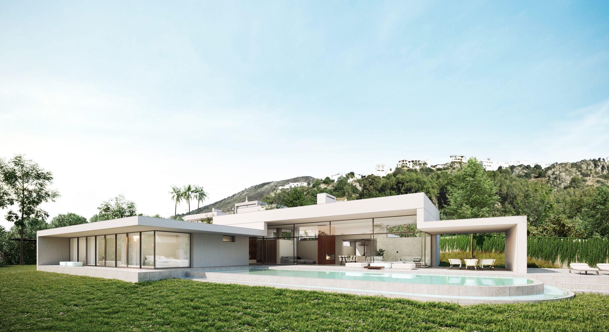 Villa avec piscine profiter d'une baignade relaxante surplombant la Méditerranée