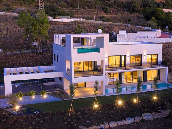 Villa spectaculaire dans l'urbanisation Santa Monica de Benalmadena
