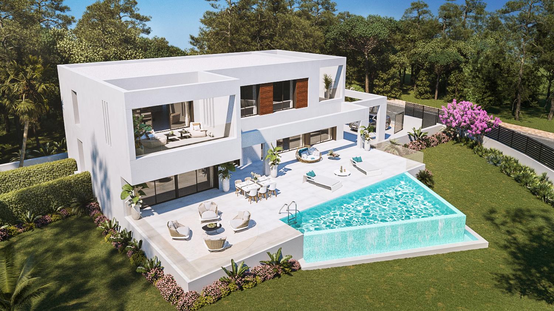 Projet architectural villas clés en main de 307m2  terrain 2000m2