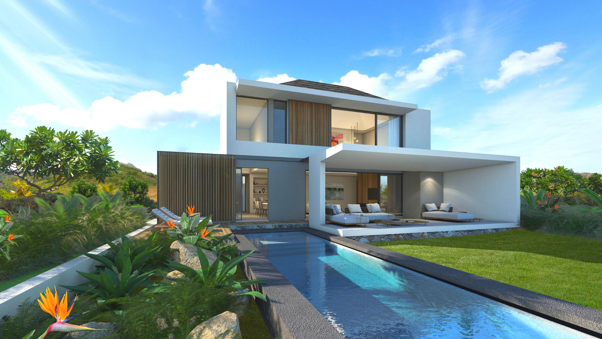 Spacieuses et lumineuses villas Pure sont conçues pour offrir un maximum de confort