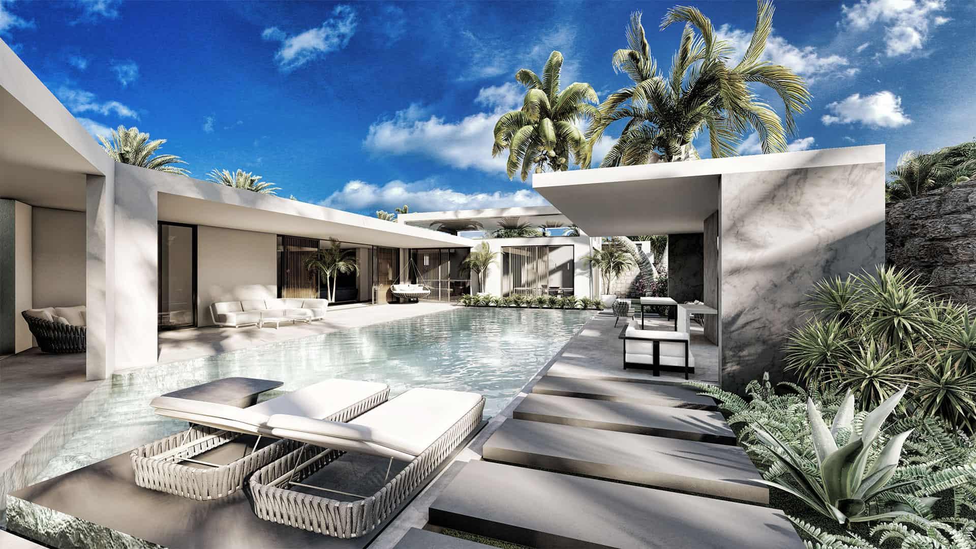Communauté unique de 8 résidences privées harmonie concept et design