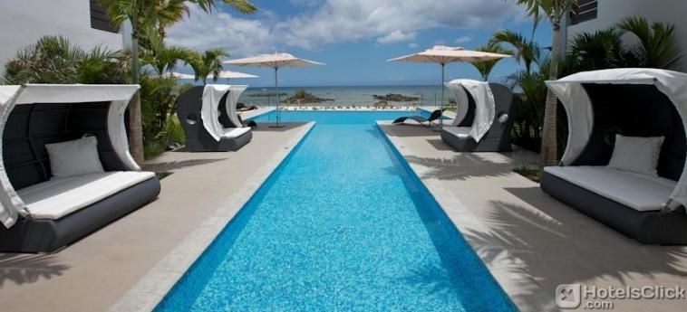 Plage Bleue Penthouse de 170m² à vendre Trou aux Biches île Maurice