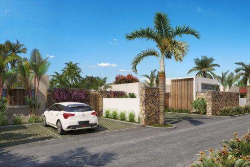 TROU AUX BICHES - Villa spacieuse située dans un village balnéaire
