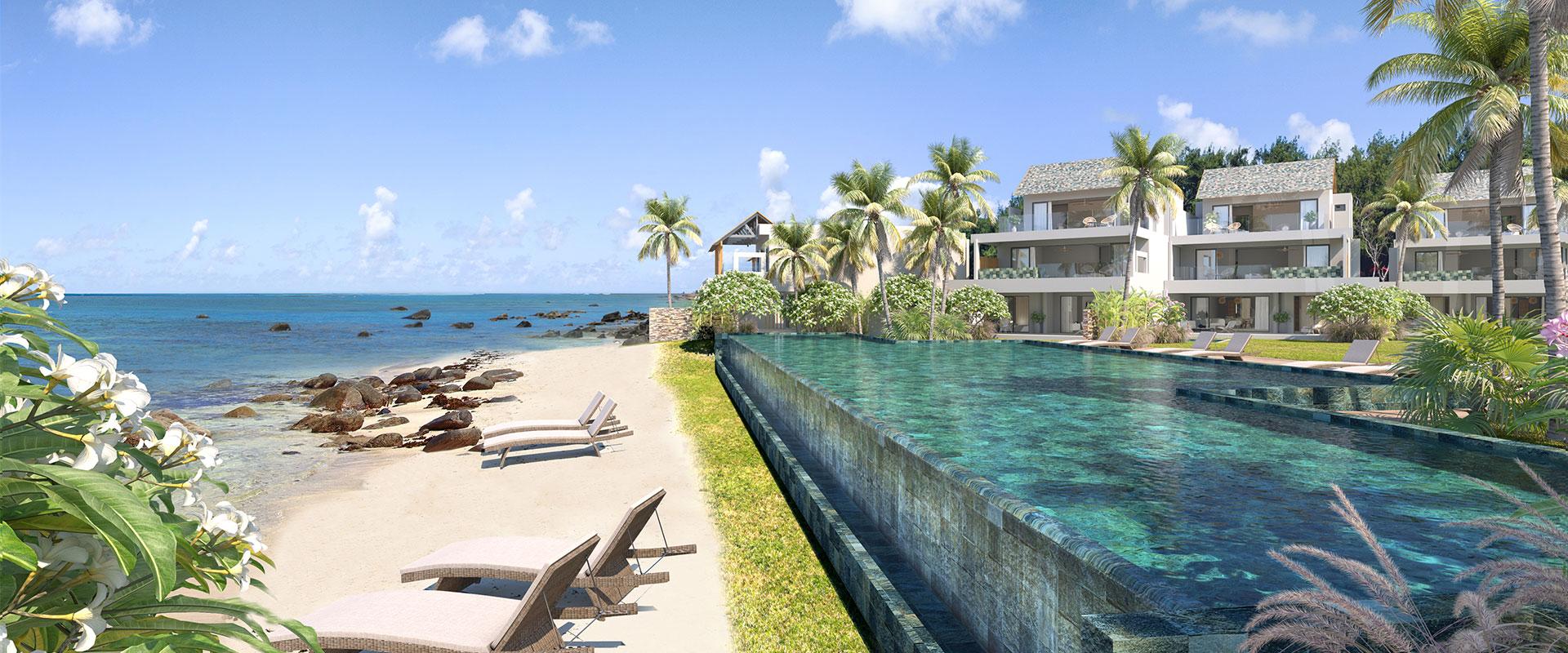 Achat Appartement  235m2 bord de mer piscine privé   Avantages Fiscaux