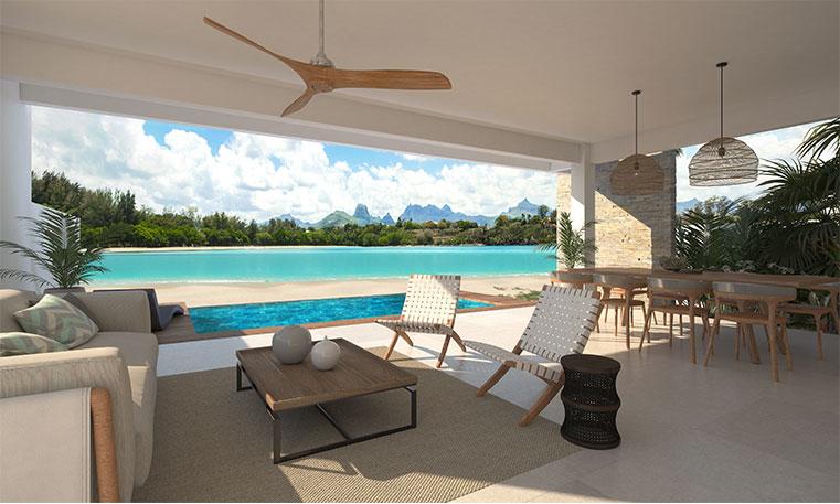 4 Chambres à coucher avec vue époustouflante, ces villas offrent confort, luxe et élégance