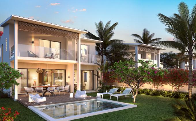 Villa de 400m2 de 4 chambresn jardin et une piscine privée2